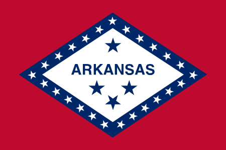 arkansas flag graphic