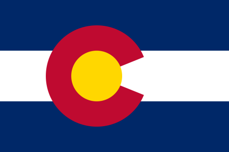 colorado flag graphic