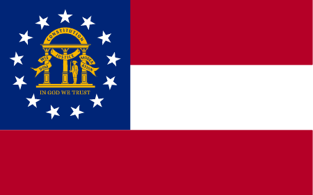 georgia flag graphic