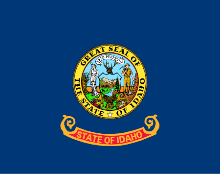 idaho flag graphic