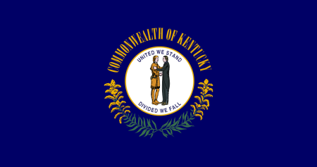 kentucky flag graphic