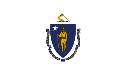 massachusetts flag graphic
