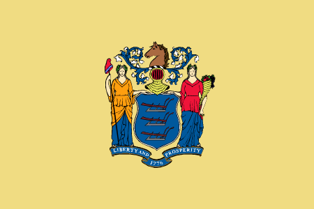 new jersey flag graphic