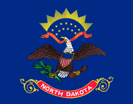 north dakota flag graphic