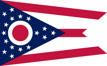 ohio flag graphic