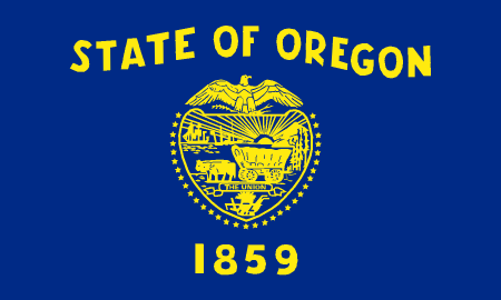 oregon flag graphic