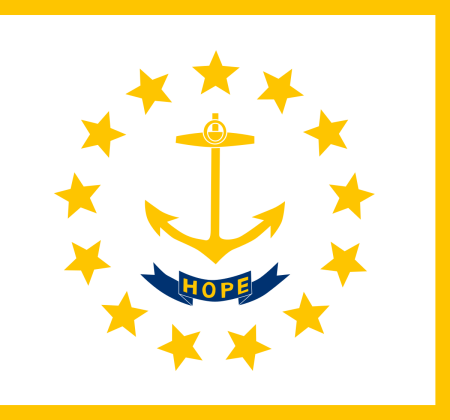 rhode island flag graphic
