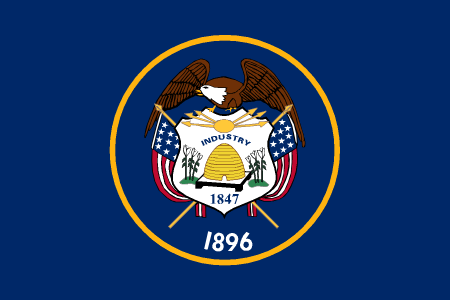 utah flag graphic