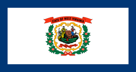 west virginia flag graphic