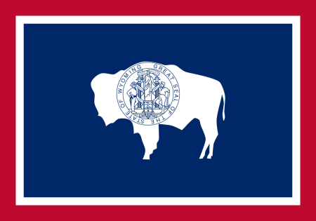 wyoming flag graphic